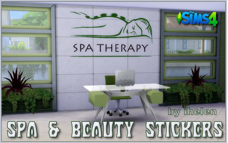 Spa & Beauty Stickers by ihelen