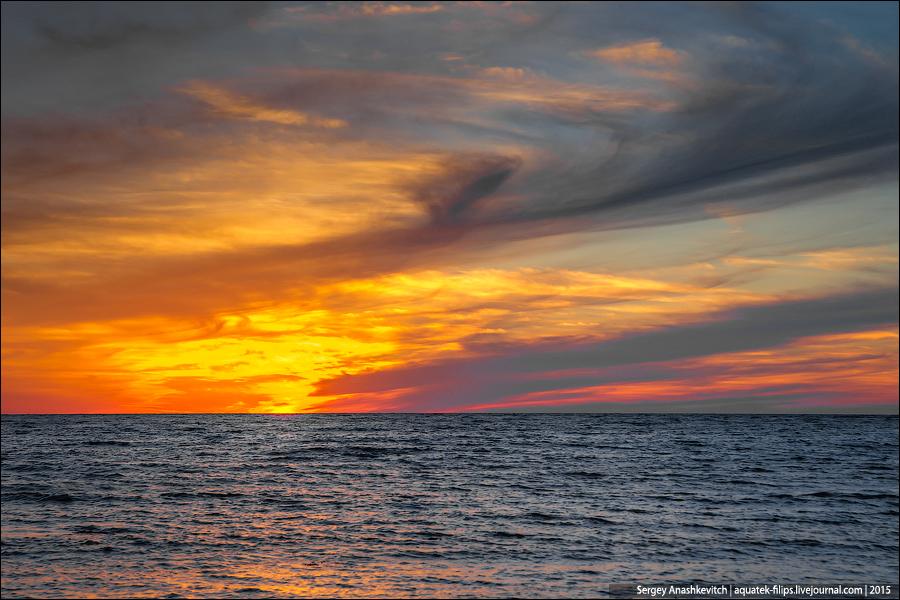 Осенне крымское море