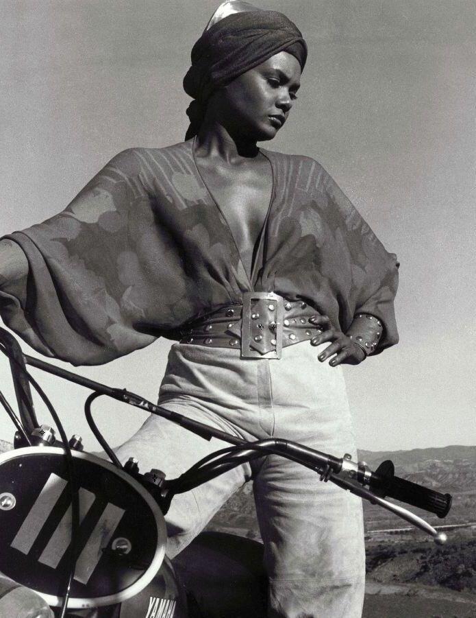 "Tamara Dobson in ""Cleopatra Jones"" 1973"