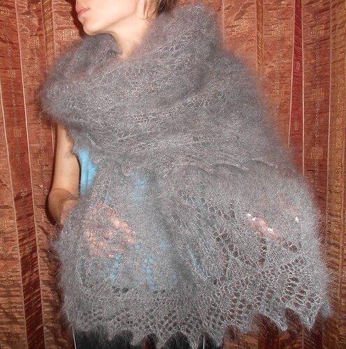 Вязание из козьего пуха спицами фото 27