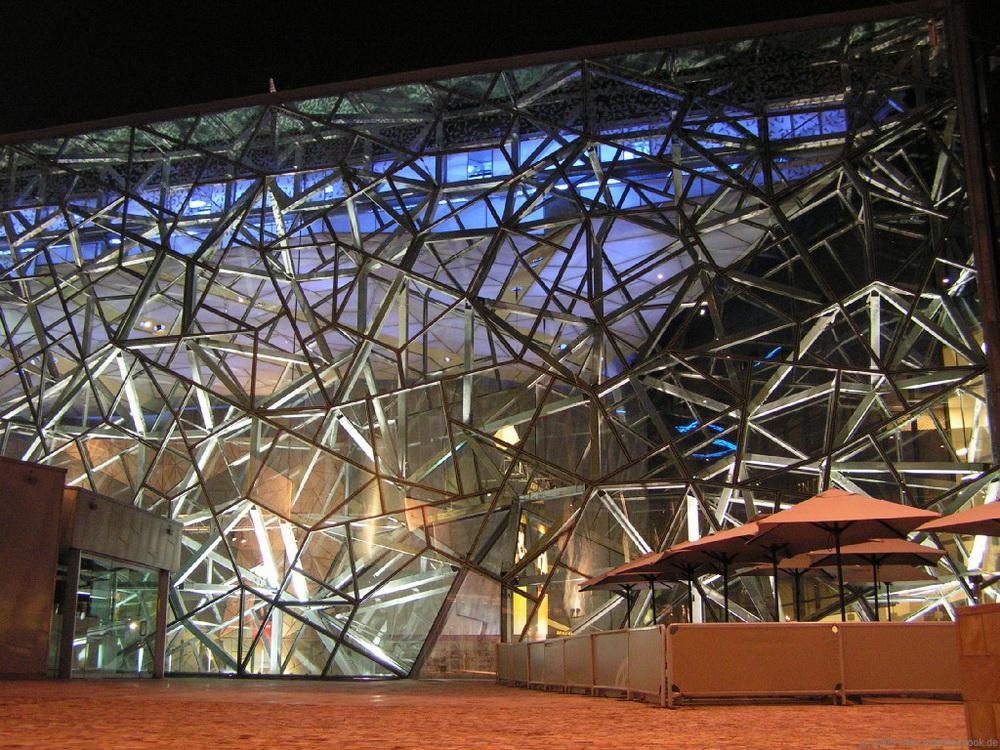 Площадь Федерации в Мельбурне