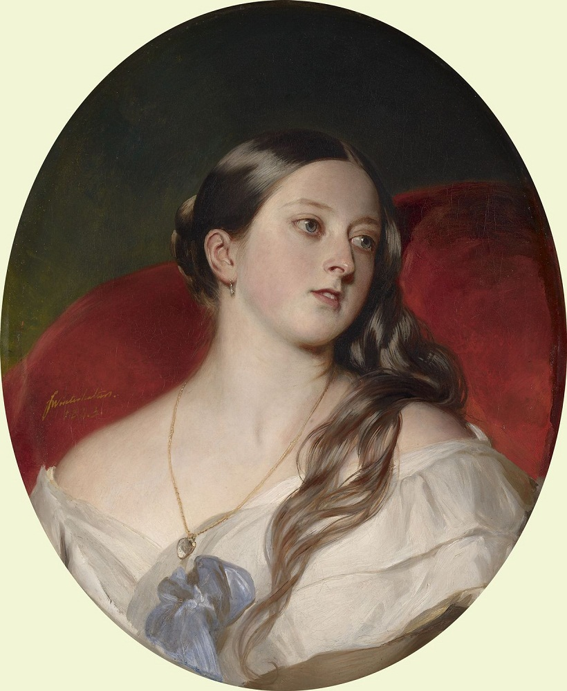 Королева Виктория (1819-1901)  Подпись и дата 1 843