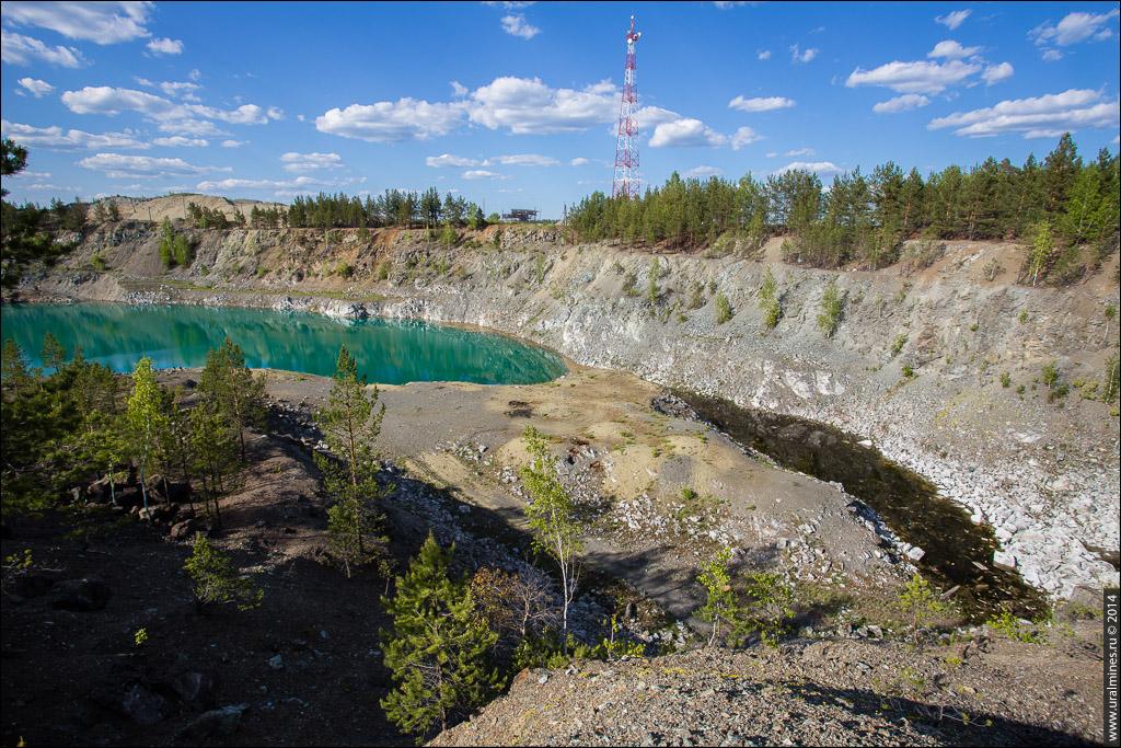Алапаевский (Курмановский) асбестовый рудник