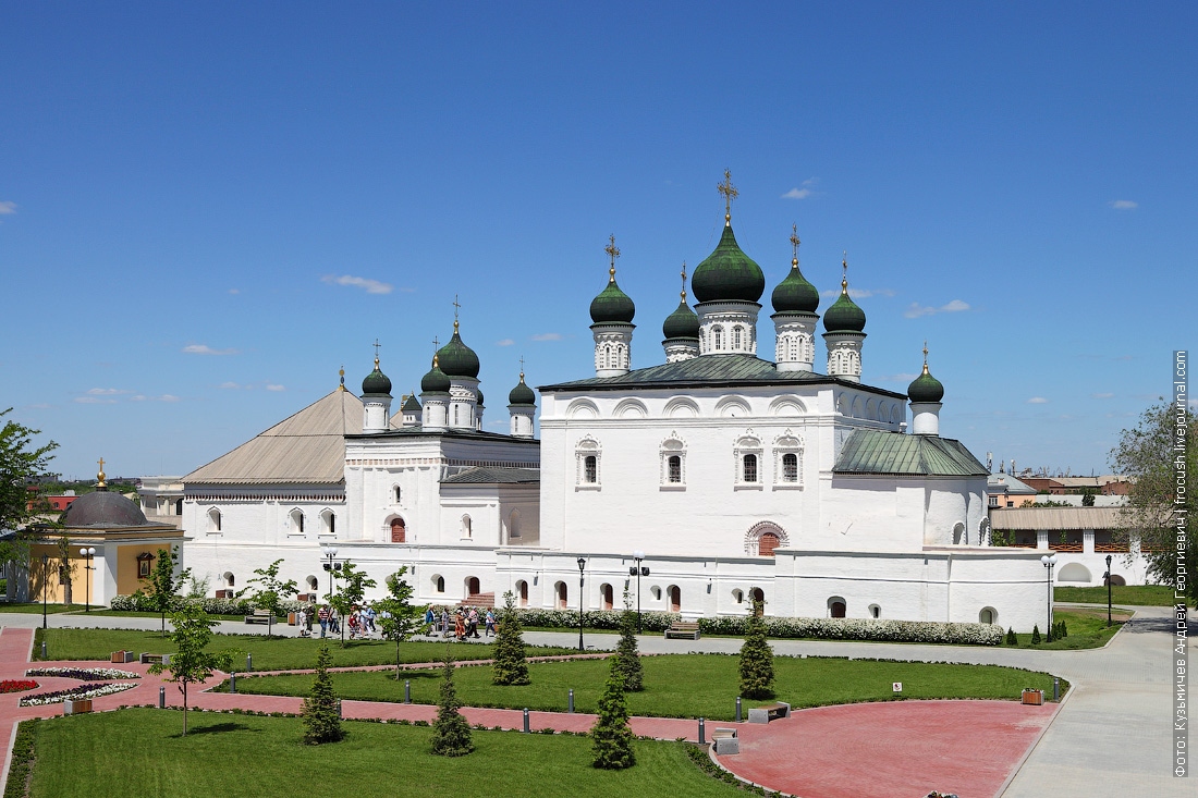 Астраханский кремль Собор бывшего монастыря Троицы Живоначальной