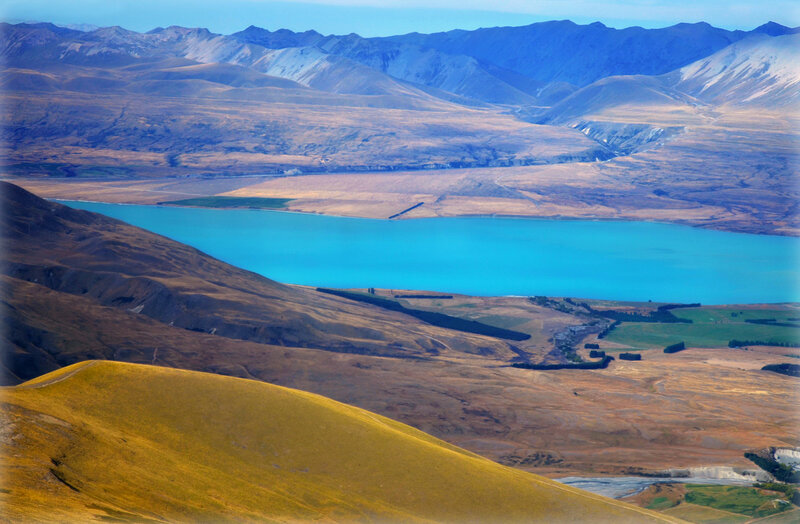 Краски Новой Зеландии
