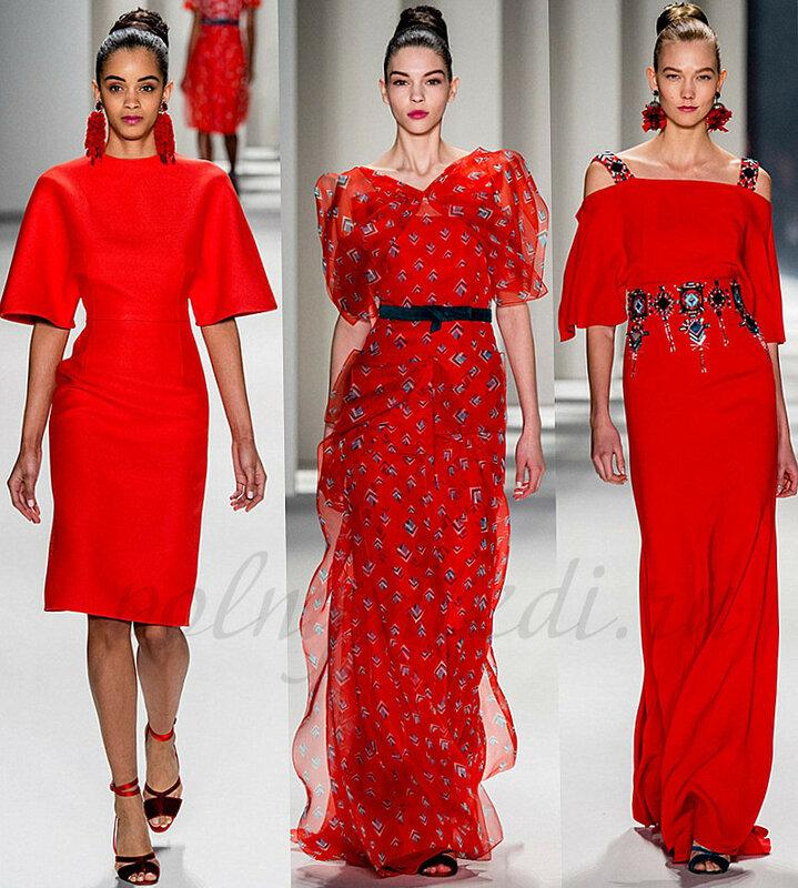 Красный в моде Сайт