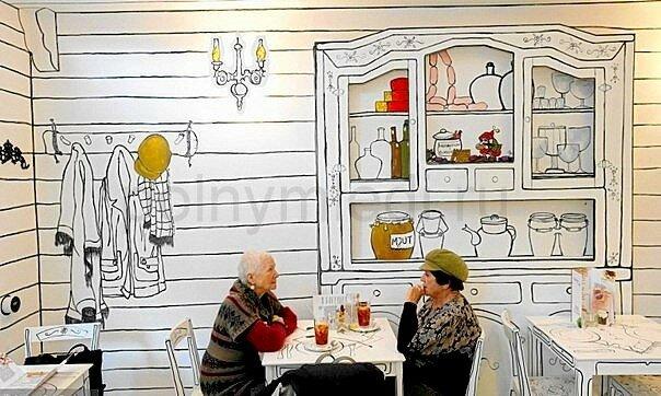 Кафе Kluska Polska в Варшаве сайт Женщина http://modnayaty.ru/.ru 0015