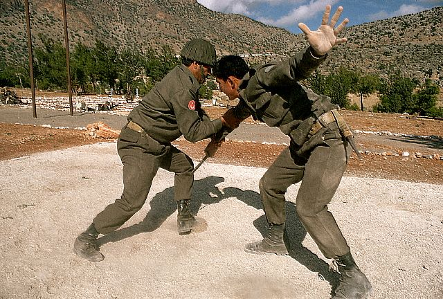 Soldiers Training in Cyprus
