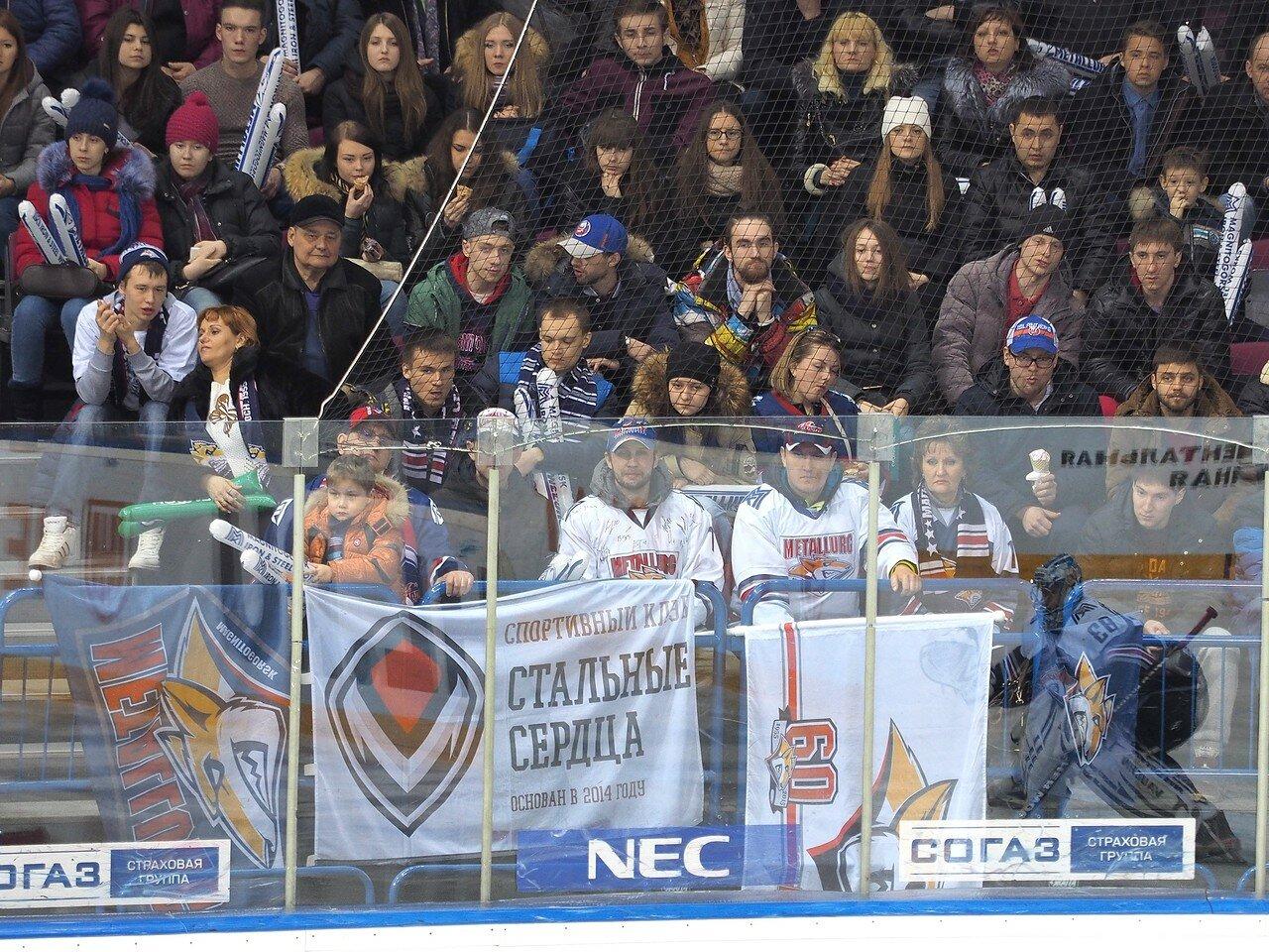 63Плей-офф 2016 Восток 1/2 Металлург - Сибирь 16.03.2016