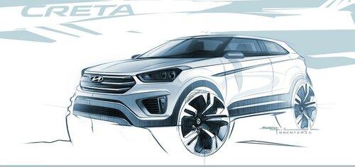 Автомобилисты в ожидании нового Hyundai Creta