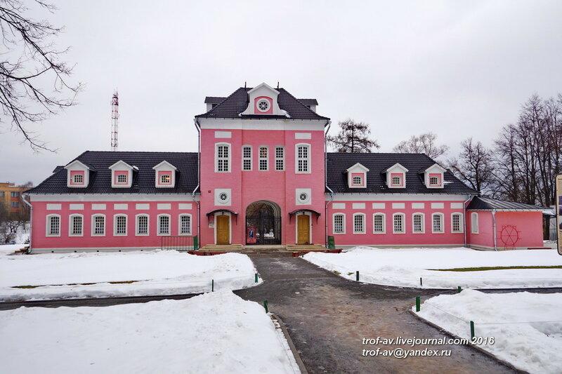 Конный двор, Усадьба Вяземы, музей-заповедник А.С.Пушкина