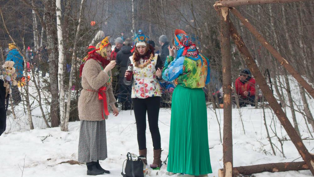 Бакшевская масленица - 2016
