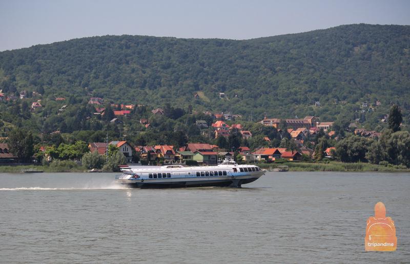 Летом из Будапешта в Вену можно добраться по Дунаю