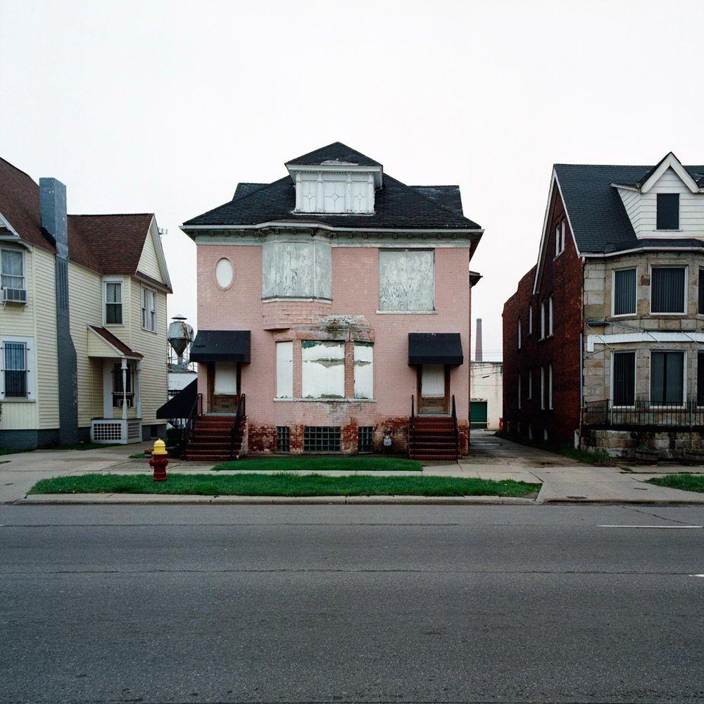 Заброшенные дома в Детройте