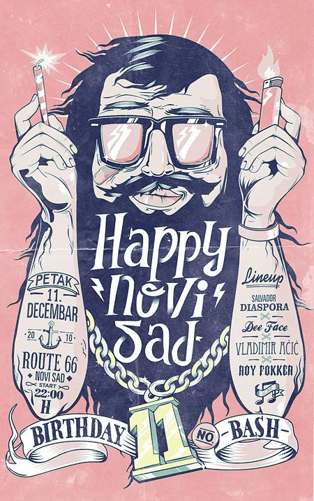 Happynovisad Birthday Bash by Marko Purac