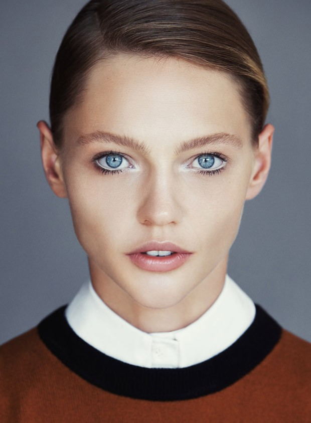 Sasha Pivovarova for Allure by Patrick Demarchelier