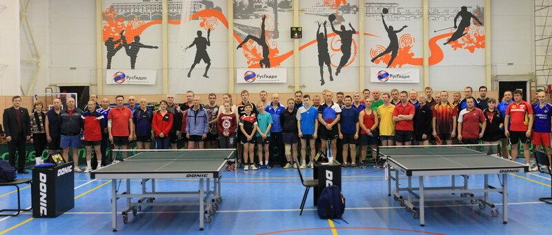 Для участия во всероссийском турнире по настольному теннису в Углич приехали 75 спортсменов со всей России