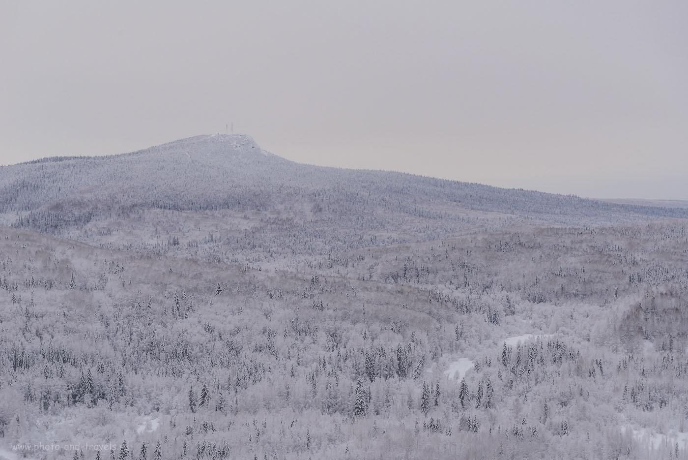 Фотография 26. Полюдов камень зимой. Вид со скалы Ветлан. 1/50, +1.33, 8.0, 400, 42.
