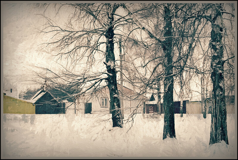 снега России