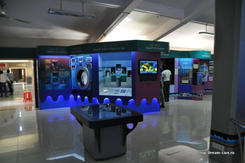 Экспонаты в научном музее в Гоа