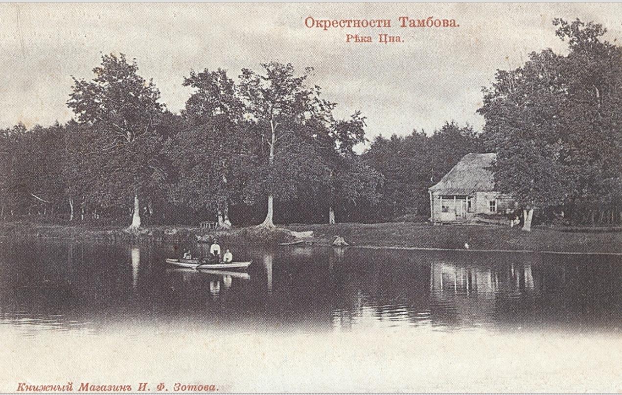 Окрестности Тамбова. Река Цна