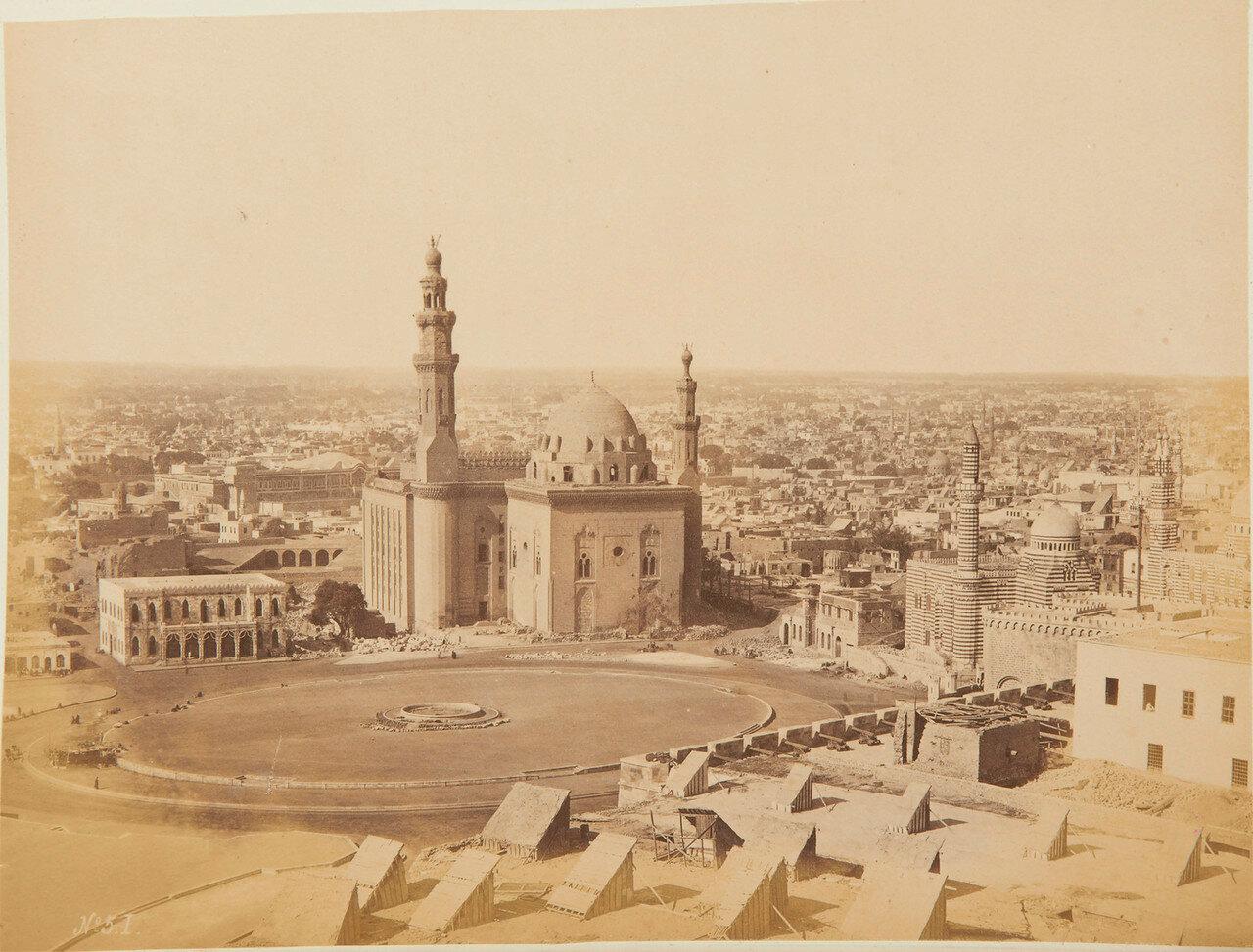 Каир. Вид из Цитадели на площадь Румела