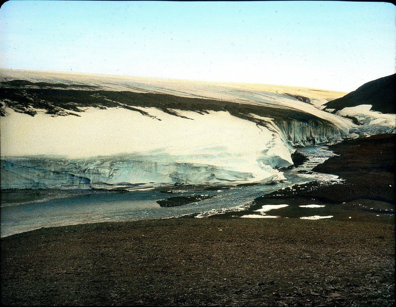 1937. Новая Земля, Залив Благополучия. Материковый ледник
