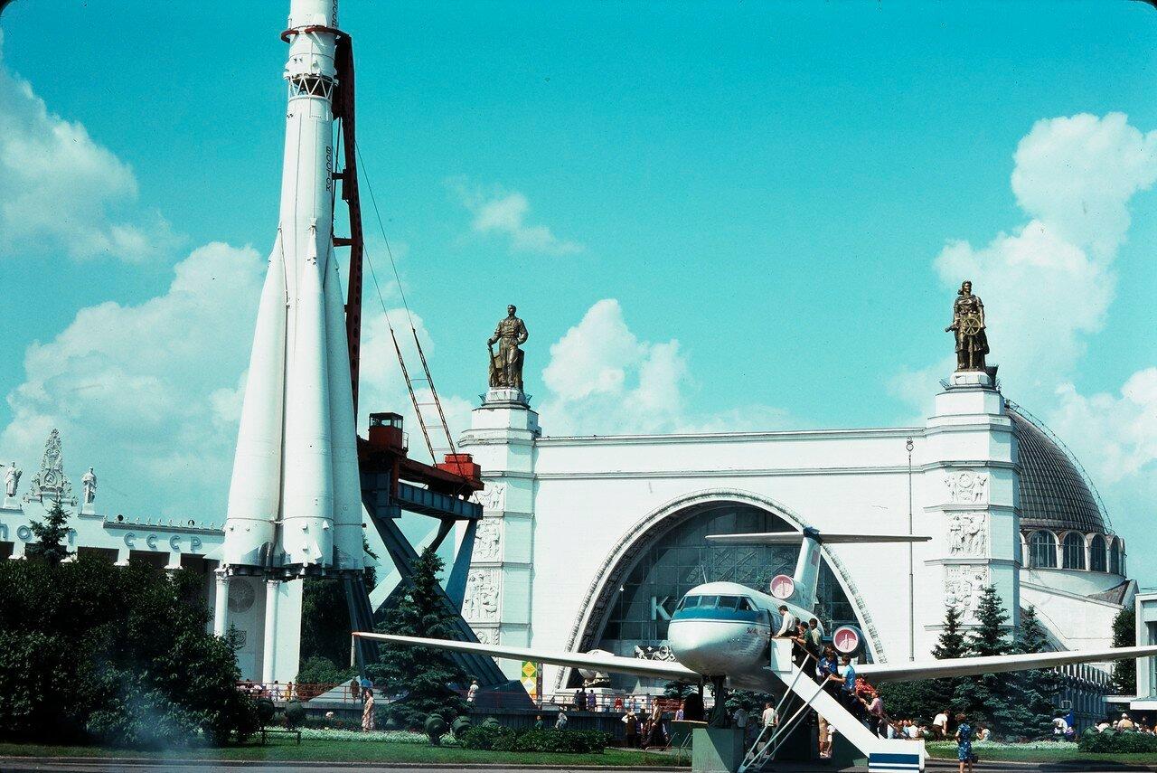 ВДНХ. Павильон Космонавтики