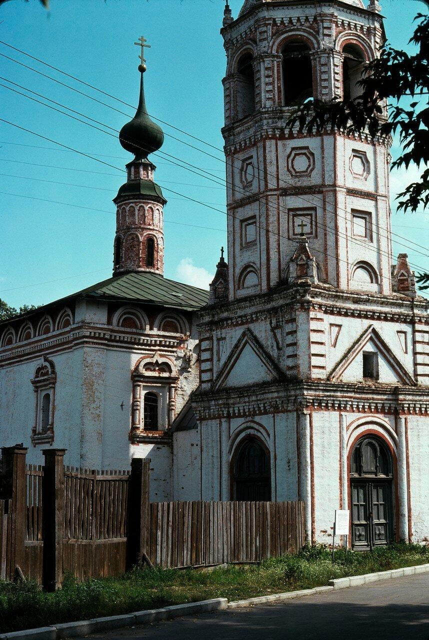 Суздаль. Никольская церковь