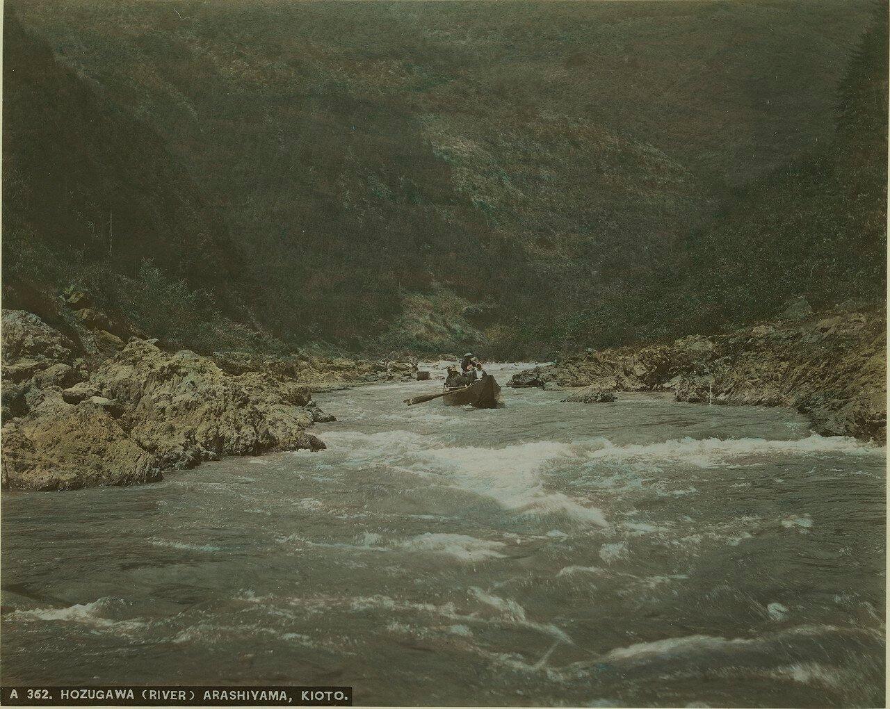 Киото. Арашияма. На реке Хоцугава