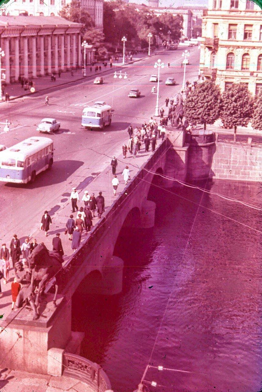 Ленинград. Аничков мост