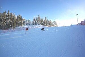 спорт,праздник,Нижний Тагил,лыжи,гора Белая,соревнования,зима,Аист,день снега