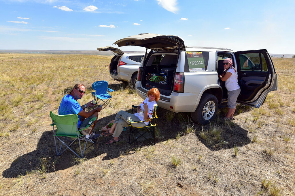 Chevrolet Tahoe пресс-экипаж ГАЗ Рейд Спорт