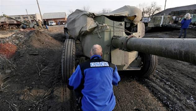 Миссия ОБСЕ зафиксировала 631 взрыв в Донецкой области 10-11 сентября