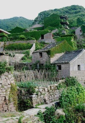 Заброшки в Китае - рыбацкая деревня