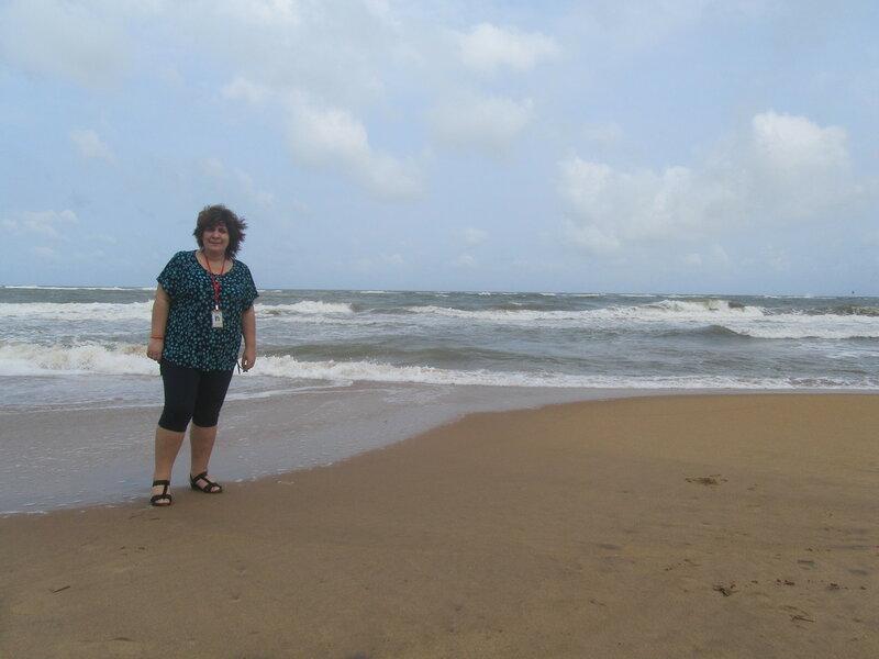 Маунт-Лавиния я и пляж-2.JPG