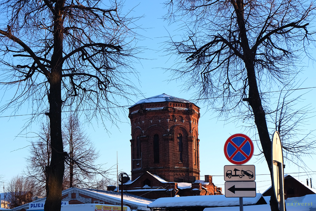 Водонапорная башня в Шуе