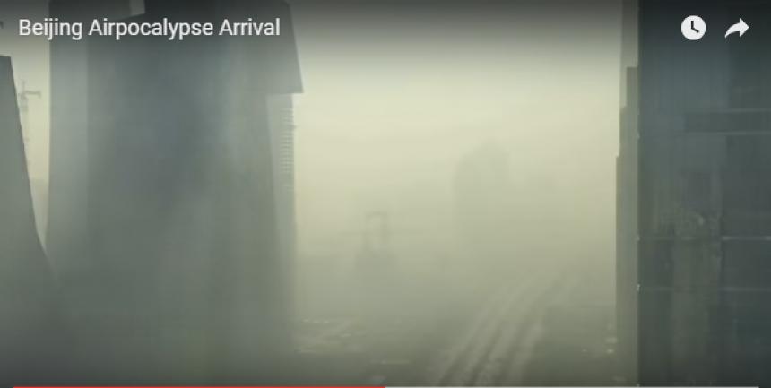 ВКитайской республике  из-за загрязнения воздуха объявили самый высокий— красный— уровень тревоги