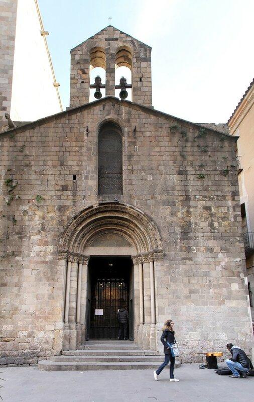 Барселона. Капелла СвятойЛюсии (Capilla de Santa Lucía)