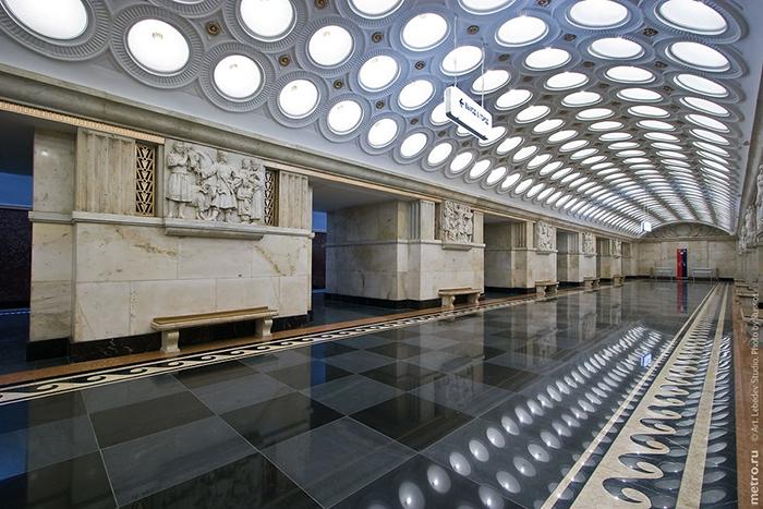 Конкурс архитектурного дизайна станций метро. (Станция Элетрозаводская)