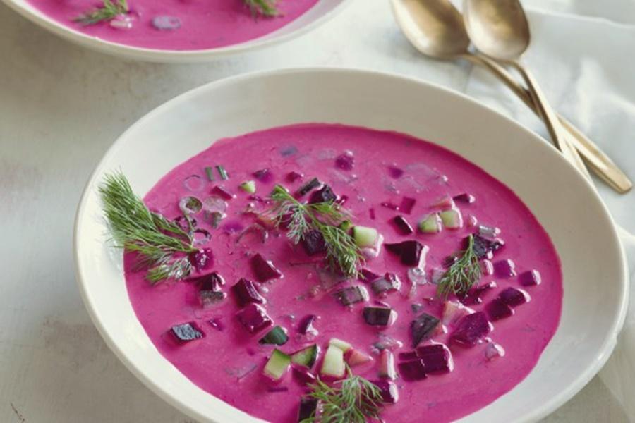 Картофельный суп пюре по литовски