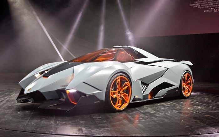1. Lamborghini Egoista Concept Этот поразительный автомобиль фирма Lamborghini представила в 2013 го