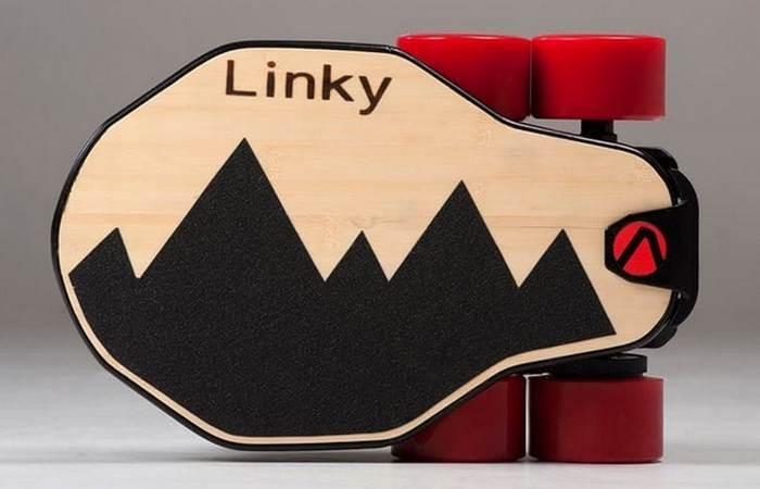 Разработанный группой итальянских предпринимателей 4,9-килограммовый Linky изготовлен из высокопрочн