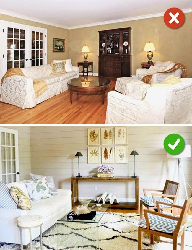 © homester  Сменой чехлов можно преобразить всю комнату исделать ваш дизайн стильным исоврем