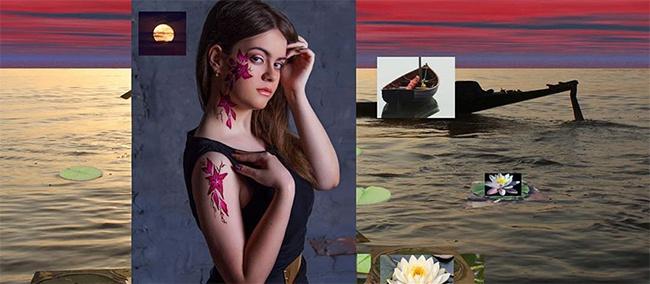 Этот дизайнер превращает обыкновенные фотографии вшедевры