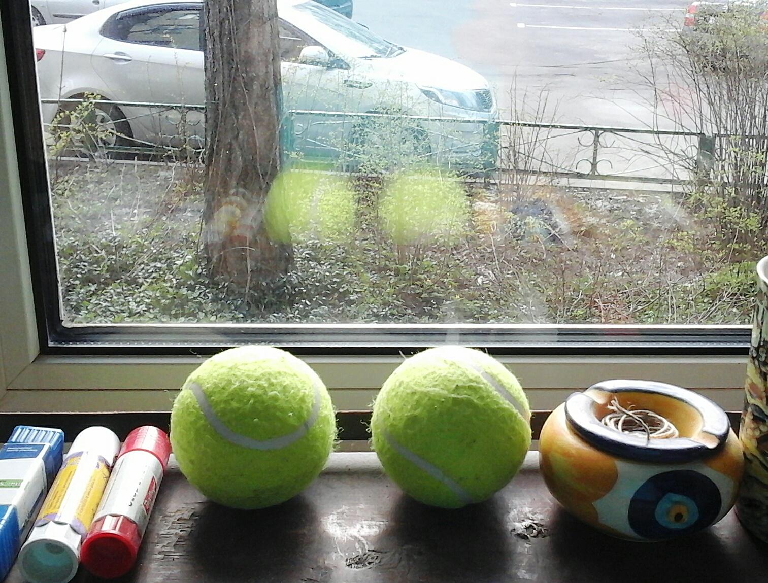 умытые мячики