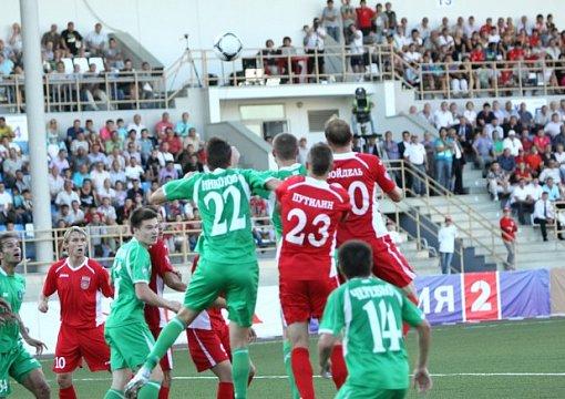 Футболисты «Томи обыграли «Уфу» вматче 3-го тура чемпионата Российской Федерации