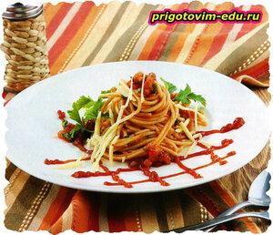 Спагетти «Алла карретьера»