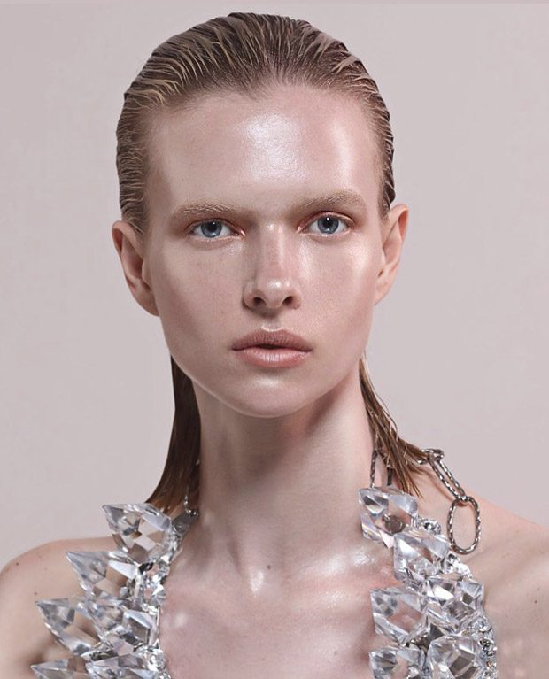 High Shine by Eniko Szucs for L'Officiel Malaysia Beauty Pages