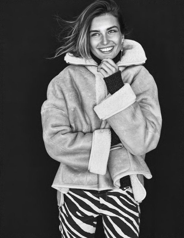 Andreea Diaconu Stuns in Isabel Marant for Elle France Cover Story